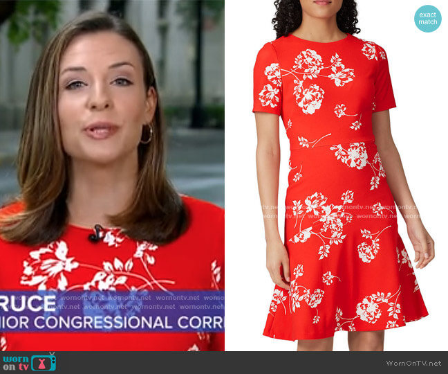 Baba Payson Floral Dress by LAUREN Ralph Lauren worn by Mary Bruce on GMA