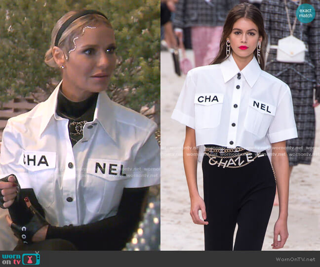 Spring 2019 Collection by Chanel worn by Dorit Kemsley  on The Real Housewives of Beverly Hills