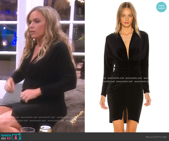 Acoma Dress by Iro worn by Teddi Mellencamp Arroyave  on The Real Housewives of Beverly Hills