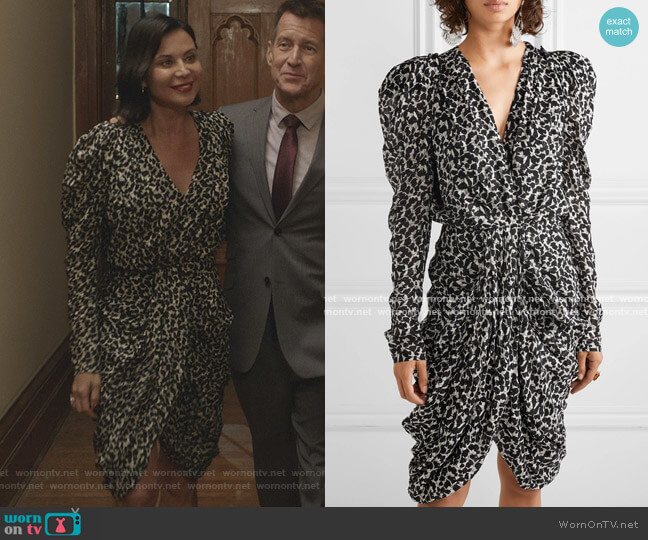 Issolya Dress by Isabel Marant worn by Cassandra Nightingale (Catherine Bell) on Good Witch