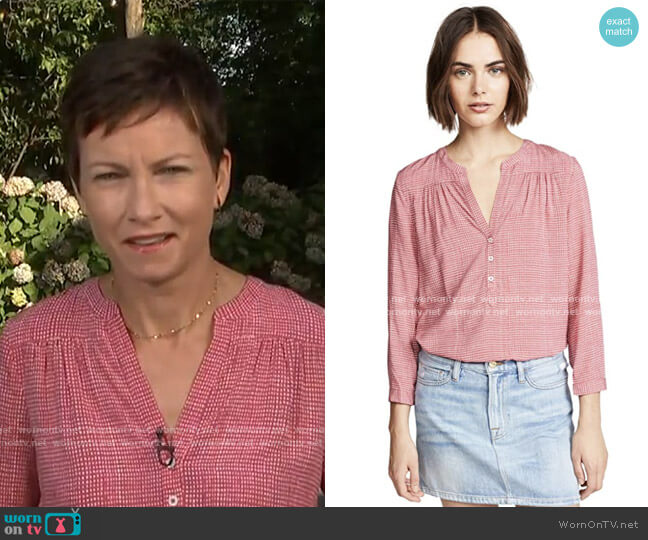 Rosalynn Top by Joie worn by Stephanie Gosk on Today Show