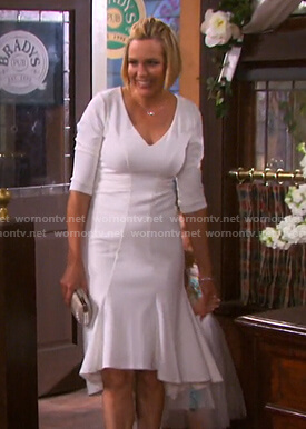 Nicole's wedding dress on Days of our Lives