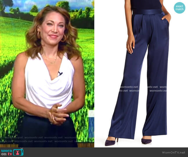 Wide Leg Pants by Ramy Brook worn by Ginger Zee  on Good Morning America