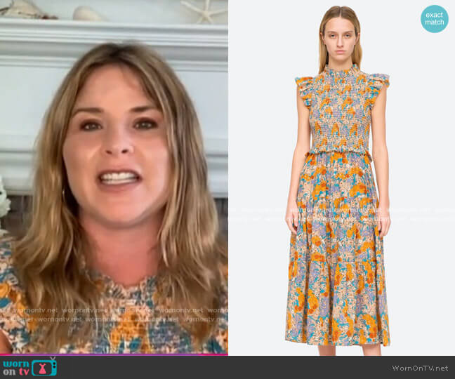 Biarritz Dress by Sea worn by Jenna Bush Hager  on Today