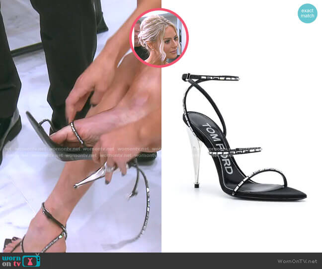 Stiletto Sandals by Tom Ford worn by Dorit Kemsley  on The Real Housewives of Beverly Hills