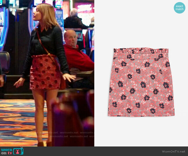 Topshop Poppy Jacquard Skirt worn by Lucy Neal (Lucy Hale) on A Nice Girl Like You
