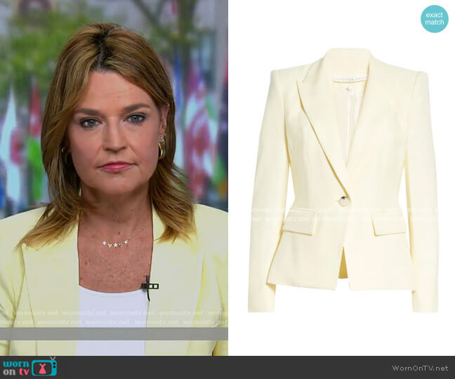 Danielle Dickey Jacket by Veronica Beard worn by Savannah Guthrie  on Today