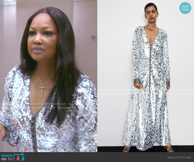 Sequin Dress by Zara worn by Garcelle Beauvais  on The Real Housewives of Beverly Hills