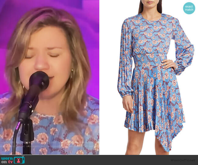 Behati Dress by A.L.C. worn by Kelly Clarkson  on The Kelly Clarkson Show