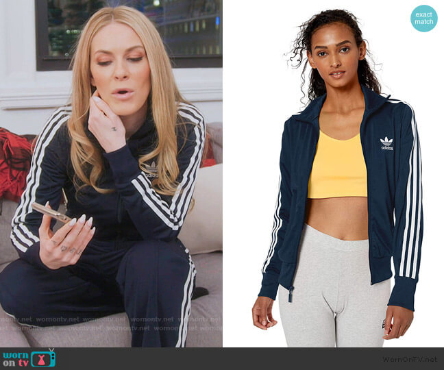 Firebird Track Top Jacket by Adidas worn by Leah McSweeney  on The Real Housewives of New York City