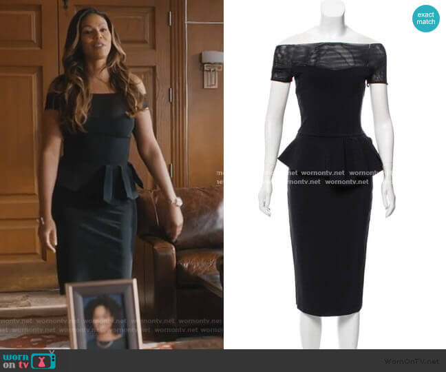 Nabelle Dress by Chiara Boni La Petite Robe worn by Grace Greenleaf (Merle Dandridge) on Greenleaf