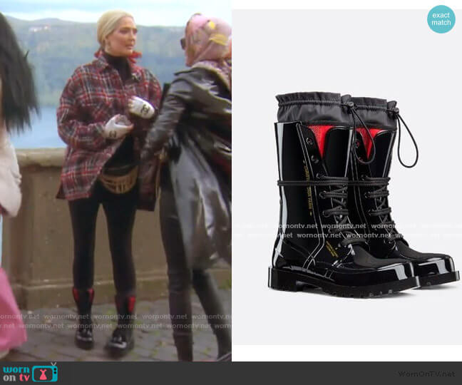 Diorcamp Low Boot by Dior worn by Erika Girardi  on The Real Housewives of Beverly Hills