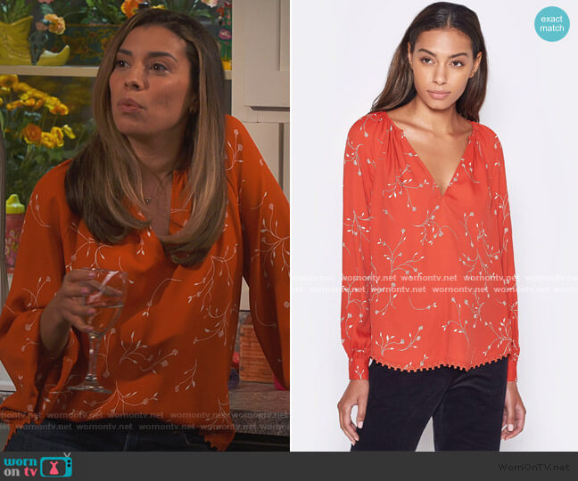 Allea Top by Joie worn by Jo (Christina Vidal Mitchell) on United We Fall