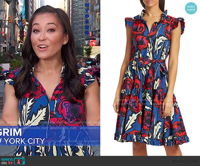 Short And Sassy Dress by La DoubleJ worn by Eva Pilgrim  on Good Morning America