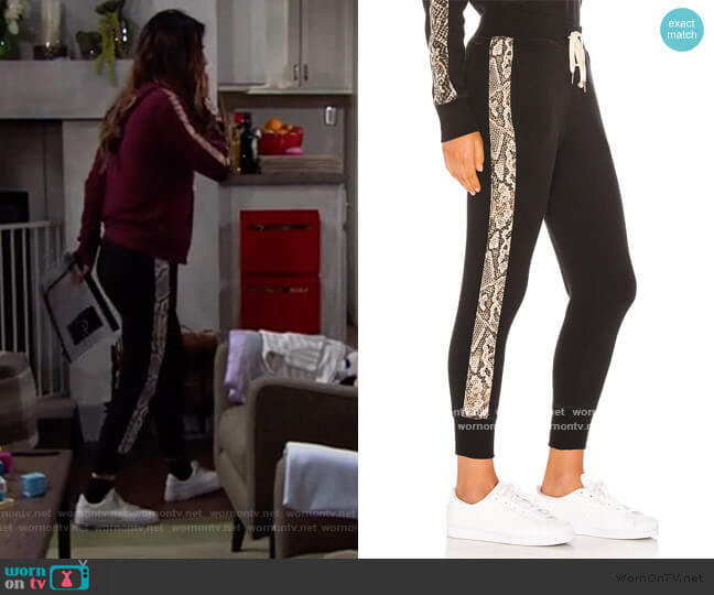 Barkley Jogger by Philanthropy worn by Steffy Forrester (Jacqueline MacInnes Wood) on The Bold & the Beautiful