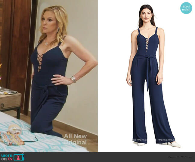 Whitley Jumpsuit by Ramy Brook worn by Ramona Singer  on The Real Housewives of New York City