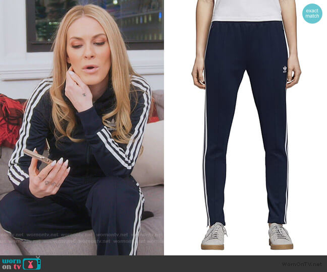 Superstar Trackpants by Adidas worn by Leah McSweeney  on The Real Housewives of New York City