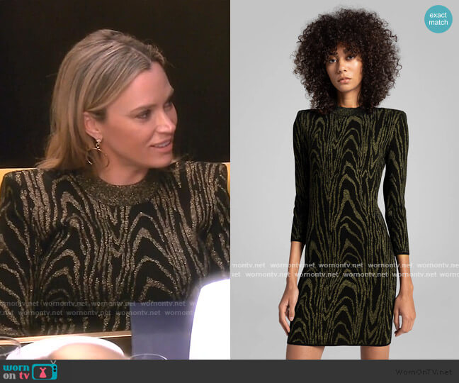 Ziggy Dress by A.L.C. worn by Teddi Mellencamp Arroyave  on The Real Housewives of Beverly Hills