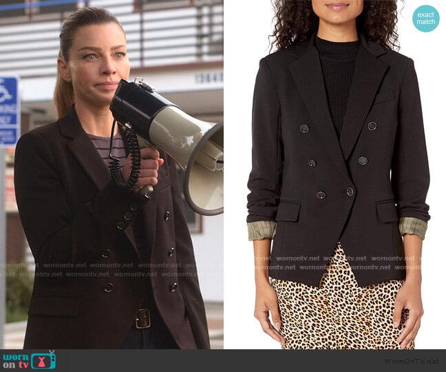 Effie Button Front Blazer by Bailey 44 worn by Chloe Decker (Lauren German) on Lucifer