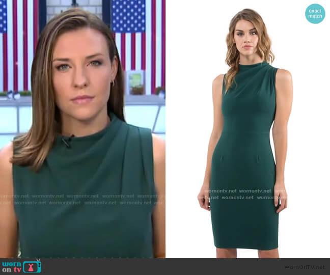 Corrine Sheath Dress by Black Halo worn by Mary Bruce on GMA