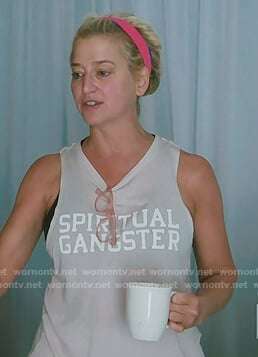 Dorinda's pink spiritual gangster on The Real Housewives of New York City