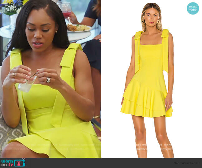 Lucky Dress by Elliatt worn by Monique Samuels  on The Real Housewives of Potomac