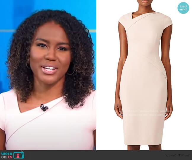 Sissi Dress by L.K. Bennett worn by Janai Norman  on Good Morning America