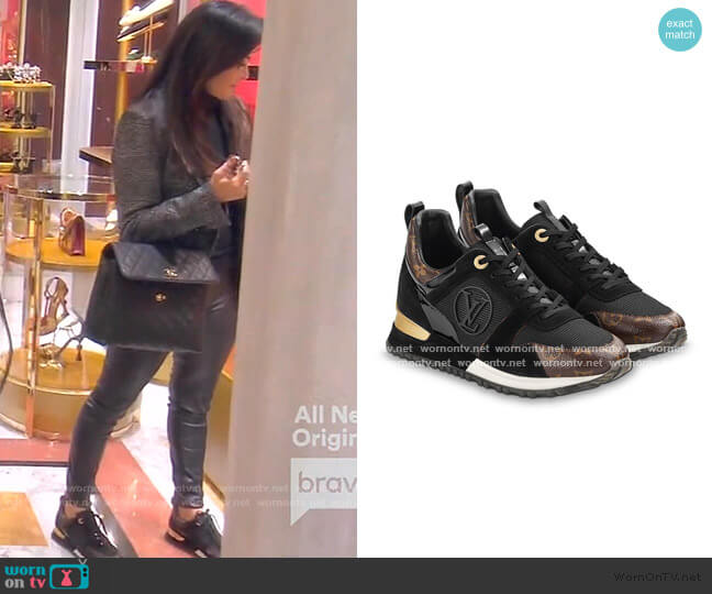 Run Away Sneaker by Louis Vuitton worn by Kyle Richards  on The Real Housewives of Beverly Hills