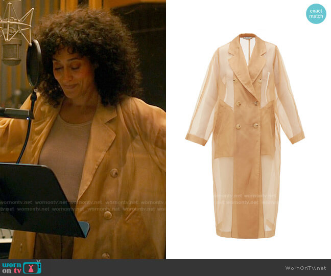 Max Mara Materia Trench worn by Grace Davis (Tracee Ellis Ross) on The High Note