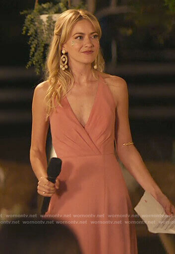 Misty's bridesmaid dress on Palm Springs