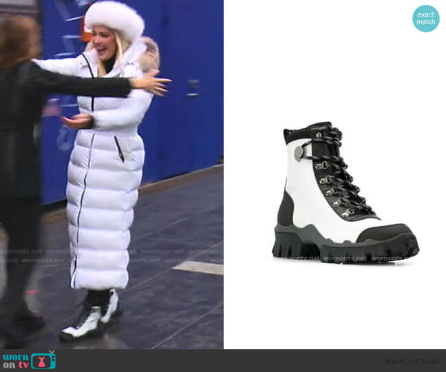 Helis Mountain Boots by Moncler worn by Erika Girardi  on The Real Housewives of Beverly Hills