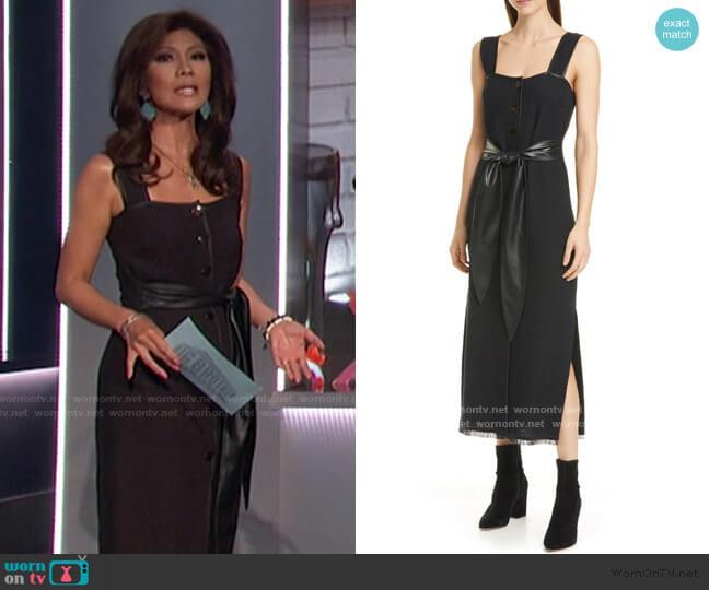 Rita Dress by Nanushka worn by Julie Chen  on Big Brother