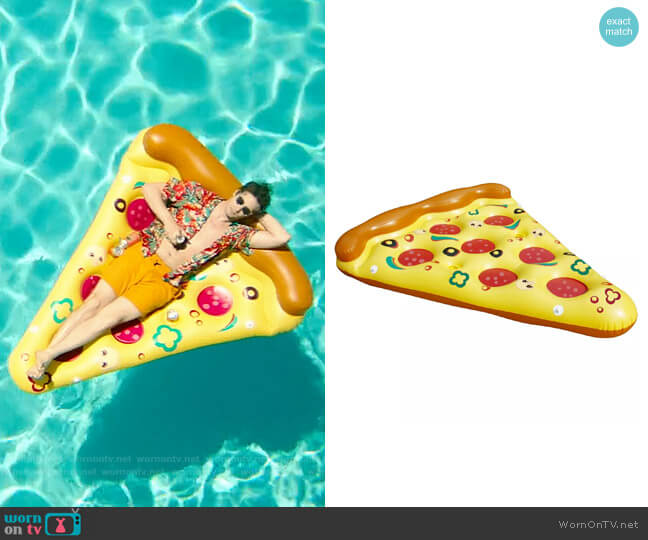 Pool Central Inflatable Pizza Slice worn by Nyles (Andy Samberg) on Palm Springs (2020)