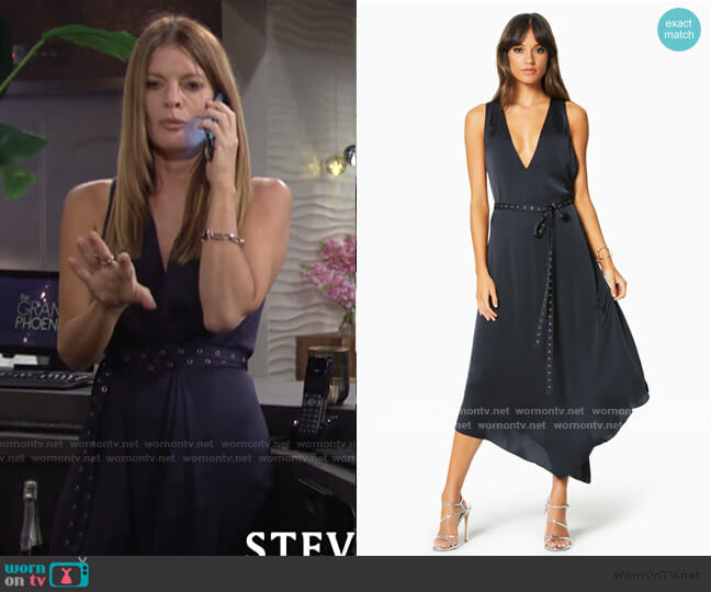 Larkin Dress by Ramy Brook worn by Phyllis Summers (Michelle Stafford) on The Young & the Restless