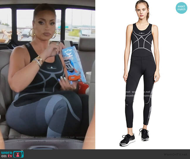 Train All In One Jumpsuit by Adidas by Stella McCartney worn by Gizelle Bryant  on The Real Housewives of Potomac