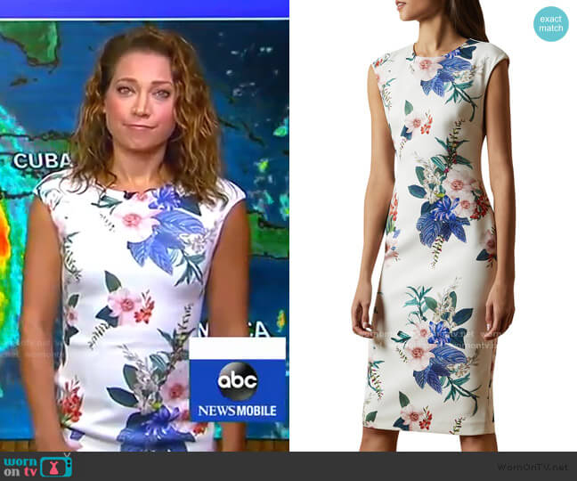 worn by Ginger Zee  on Good Morning America