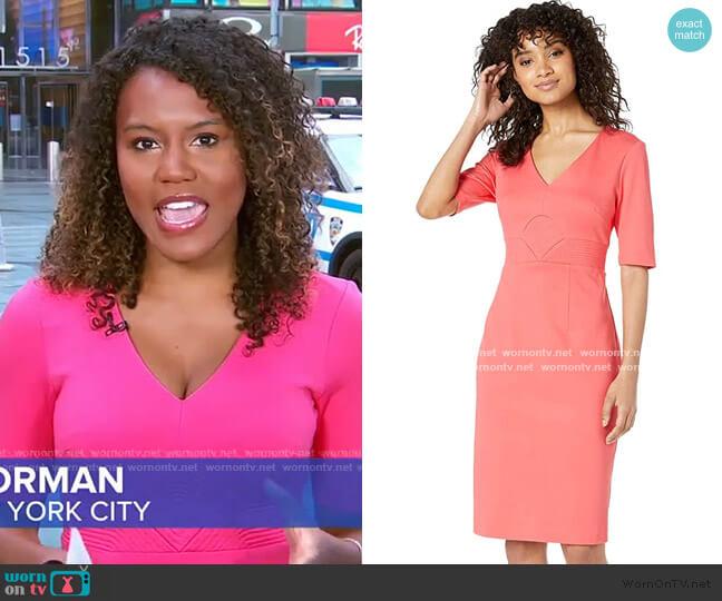 Ashton Dress by Trina Turk worn by Janai Norman  on Good Morning America