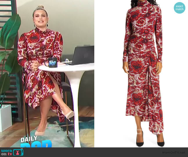 Isabella Maxi Dress by A.L.C. worn by Carissa Loethen Culiner  on E! News