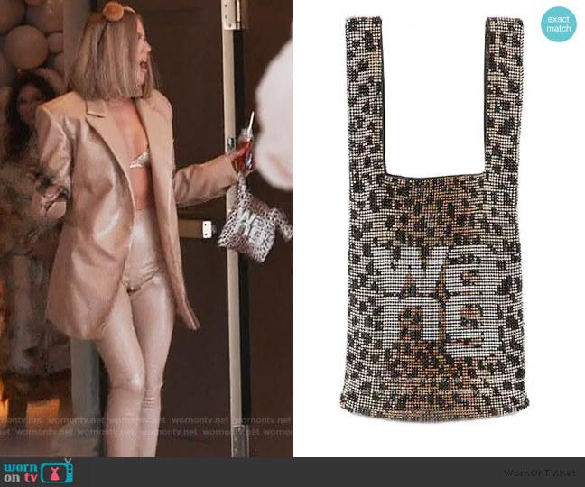 Wangloc Embellished Bag by Alexander Wang worn by Khloe Kardashian  on Keeping Up with the Kardashians