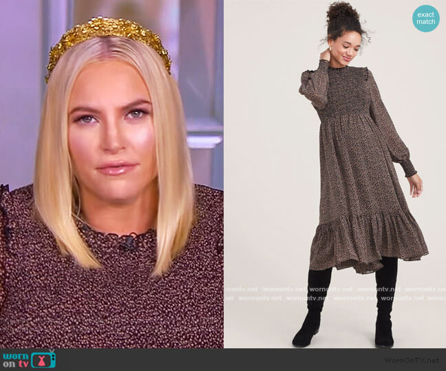 The Lana Dress by Hatch worn by Meghan McCain  on The View