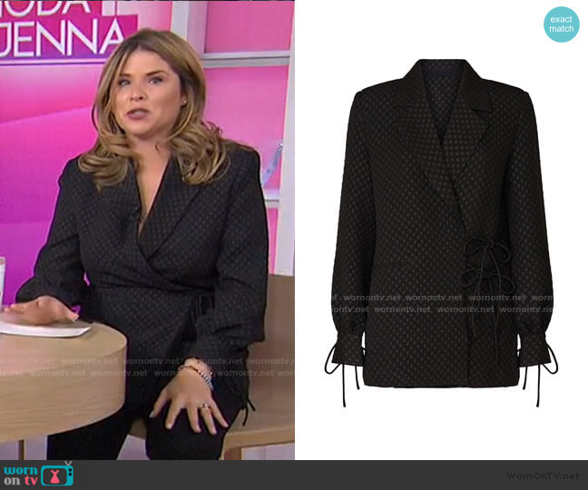 Saskia Blazer by Hofmann Copenhagen worn by Jenna Bush Hager  on Today