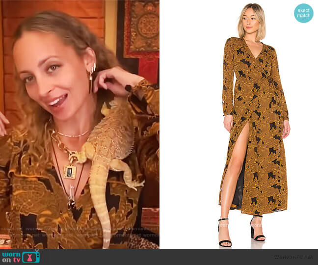 x REVOLVE Margareta Dress by House of Harlow worn by Nicole Richie on The Drew Barrymore Show