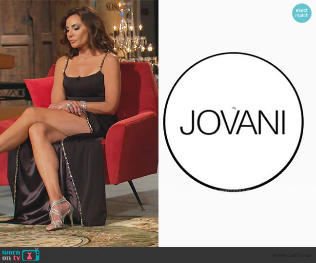 Custom Dress by Jovani worn by Luann de Lesseps  on The Real Housewives of New York City