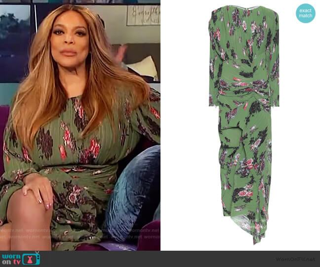 Ofira floral maxi dress by Preen by Thornton Bregazzi worn by Wendy Williams  on The Wendy Williams Show