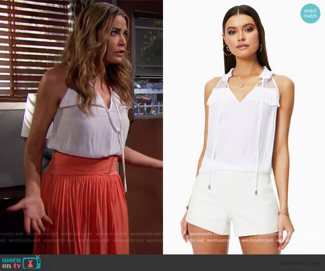 Krista Top by Ramy Brook worn by Shauna Fulton (Denise Richards) on The Bold & the Beautiful