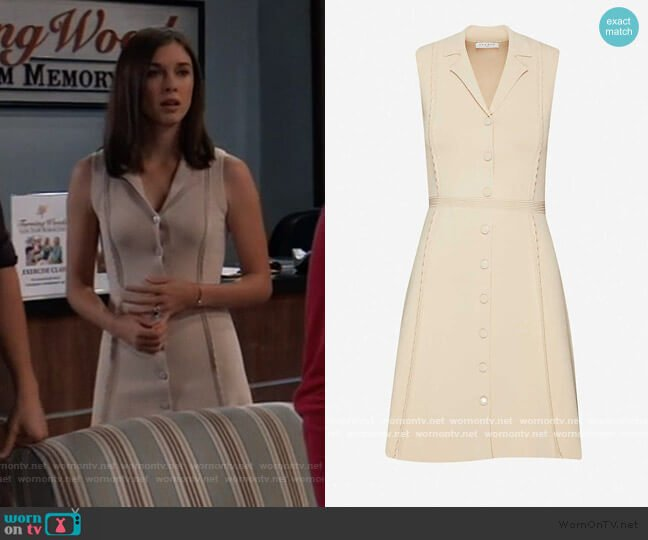 Johane knitted dress by Sandro worn by Willow Tait (Katelyn MacMullen) on General Hospital