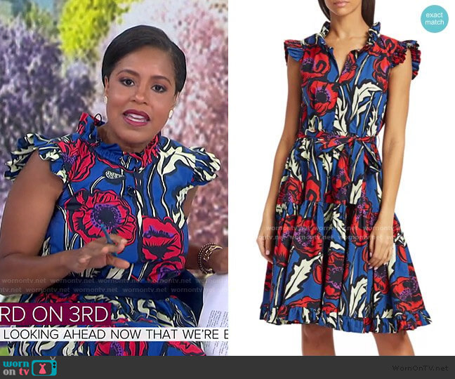 Short And Sassy Dress by La DoubleJ worn by Sheinelle Jones  on Today