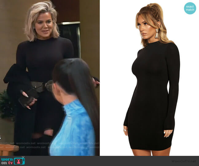 The NW Mini by Naked Wardrobe worn by Khloe Kardashian  on Keeping Up with the Kardashians