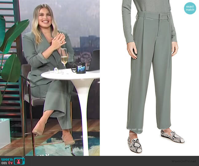 Wide Leg Trousers by Vince worn by Carissa Loethen Culiner  on E! News