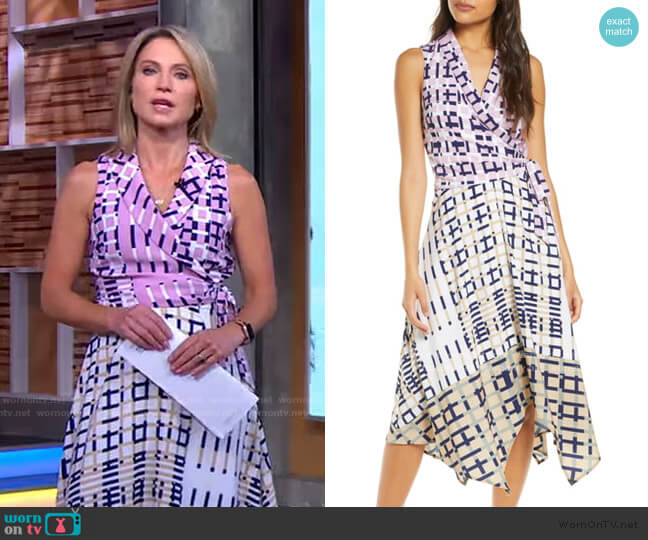 Rhiann Dress by Adelyn Rae worn by Amy Robach  on Good Morning America